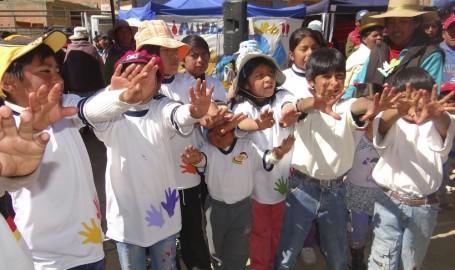 Niños se capacitan en saneamiento ecológico